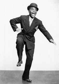 """Bill """"Bojangles"""" Robinson--legendary tap dancer and film star of the 30's Fred Astaire called him the greatest dancer of all time."""