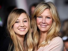 Heather Locklear and her daughter Ava, August 2013