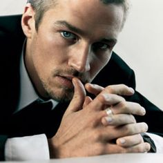 Male model, James Penfold -