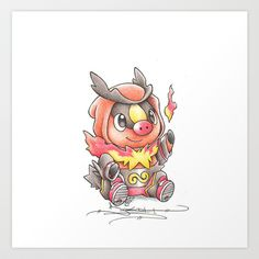 A Fire to be Kindled Art Print by Randy C (birdychuart)