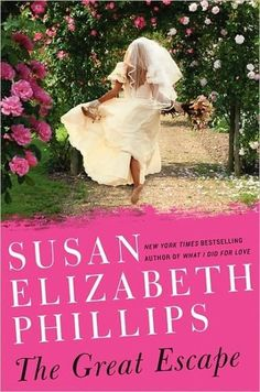 A runaway bride must find herself — and love in the process — when her life falls apart in Susan Elizabeth Phillips's The Great Escape: A Novel.