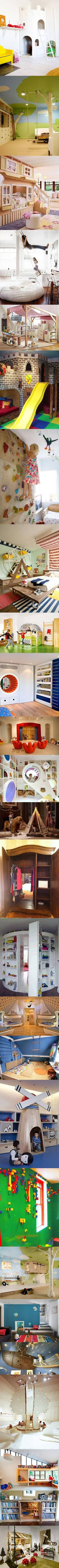 24 Ultra Geeky and Creative Room Ideas for Kids - TechEBlog