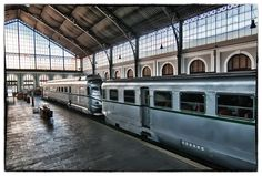 Museo del Ferrocarril de Madrid en HDR