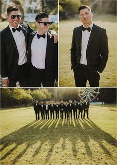 groomsmen black tie @weddingchicks
