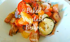 Healthy Travel: Baked Vegetable Briam
