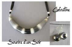 Well maybe not the earrings!!!! :) Sourire d'un soir - Clafoutine