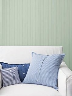 Men's Shirt Pillows - A previous pinner wrote (a sweet idea) - I should totally do this with my dad's old dress shirts and then we could all have him around us!