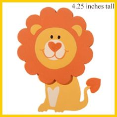 Wooden Lion, Painted, Dimensional  crafts from DIYGreek.com #sorority #sister #greek #craft #handmade #gift #idea #wood #cut out #mascot #symbol #chapter #family #adpi #phi mu #lion