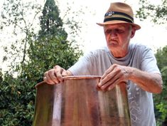 Jim Tom was very famous for his moonshine. Doesn't make it anymore. So he is now famous for making stills, worms, and other things.