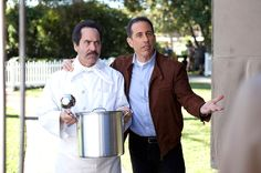 "Happy Birthday to comedian Jerry Seinfeld​! 2007 PODCAST INTERVIEW with The Soup Nazi, Larry Thomas​  LARRY THOMAS audio excerpt: ""I got a couple of calls from the East Coast, because I live on the West Coast, and I got a couple of calls from the East Coast saying, ""Are you watching the news?"" And I said, ""Why?"" They said, ""They keep airing scenes of you or a scene of you from the 'Seinfeld' that aired tonight, and they're comparing you to some real soup vendor in New York!""…"