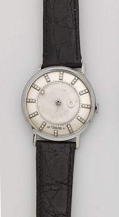 """Armbanduhr von Jaeger Le Coulture und Vacheron Constantin sog. """"Misteriös"""" aus den 50er Jahren. Wei — Uhren"""