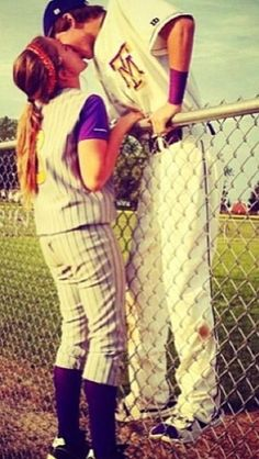 boyfriend baseball player pictures | That one thing every softball and baseball player dream about.