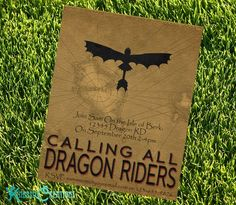 How To Train Your Dragon Party Invitation Style 2 Instantly Dragon Birthday Parties, Dragon Party, 8th Birthday, Birthday Ideas, Friend Birthday, How To Train Your, How Train Your Dragon, Diy Invitations, Birthday Invitations