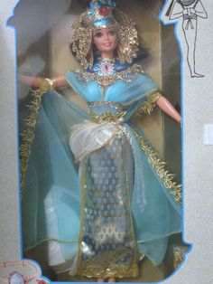Egyptian Queen Cleopatra Barbie Doll Great Eras Collection 1993 | eBay