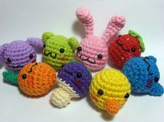 Nerdigurumi - Free Amigurumi Crochet Patterns with love for the Nerdy » » Kawaii Chibi Amigurumi Pattern – Cat, Dog, Bunny, Bear, Duck, Mushroom, Carrot or Strawberry