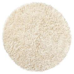 Flokati Flufff Round Rug