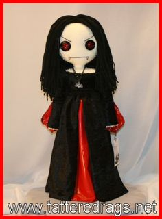 Halloween Vampire Doll