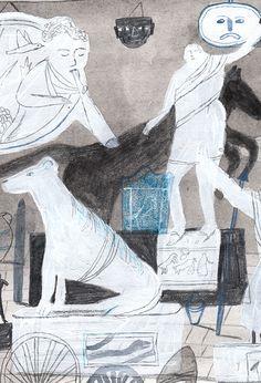 curiosities - vivien mildenberger illustration