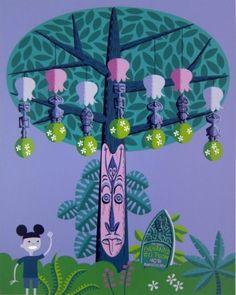 Disney Tiki Room Decor
