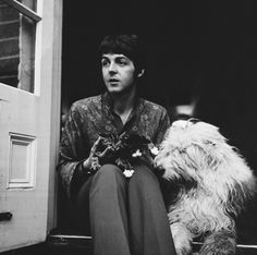 Paul McCartney is one of the creative forces that made The Beatles one of the biggest musical groups ever, and he's lived almost his whole life in front of the camera. The Beatles Story, Beatles One, Sir Paul, John Paul, Paul Mccartney, Martha My Dear, The Magical Mystery Tour, Famous Dogs, New Wife