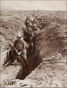 The Front Line by Frank Hurley