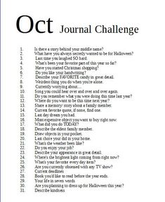 Other writing prompts journal october challenging months Bullet Journal Prompts, Gratitude Journal Prompts, Journal Writing Prompts, Writing A Book, Art Challenge, 30 Day Writing Challenge, Journal Challenge, Journal Entries, Journal Pages