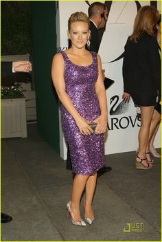 Hilary Duff in Michael Kors c. 2008.  One of my favorite fashion moments of all time.