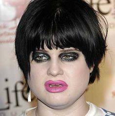 Kelly Osbourne is a WINNER ......for 'worst makeup EVER!'