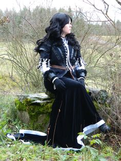 My Yennefer cosplay for Witcher 3 cosplay competition.
