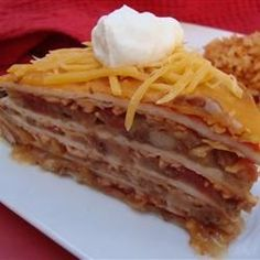 """Mexican Casserole 