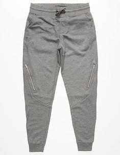 543a8a3a9d69 WELL VERSED Zippered Mens Jogger Pants Mens Jogger Pants