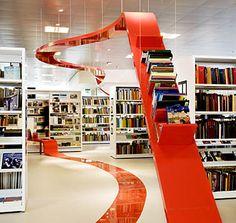 Hjørring Bibliotek. Foto: Laura Stamer