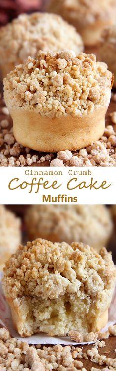 Cinnamon Crumb Coffe Cake Muffins