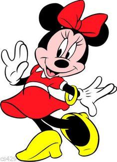 Disney minnie mouse wall sticker glossy red cut out border Mimi Disney, Walt Disney, Disney Art, Mickey Mouse E Amigos, Mickey E Minnie Mouse, Mickey Mouse And Friends, Disney Drawings, Cartoon Drawings, Minnie Mouse Cartoons