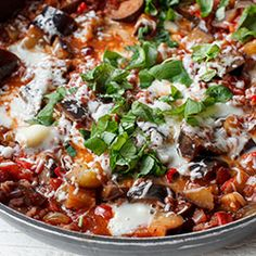Kaszotto z bakłażanem i pomidorami | Kwestia Smaku