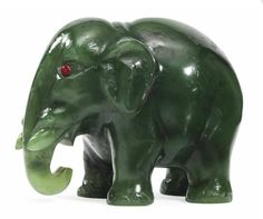 Fabergé Nephrite Elephant