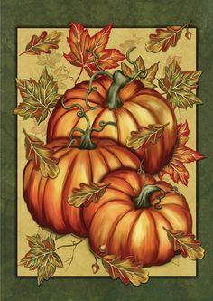 Pumpkin Spice House Flag | Store | MadAboutGardening.com