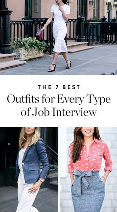 9517b4296cd The 7 Best Outfits for Every Type of Job Interview via  PureWow Job  Interview Dress