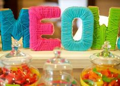 Kara's Party Ideas Cat + Kitty Themed 2nd Birthday Party - Kara's Party Ideas - The Place for All Things Party