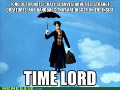 Mary Poppins: Time Lord.