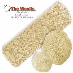 Sponge Painting Roller & Sponge - COMBO PACK - Faux Finish Painting Technique Roller by The Woolie