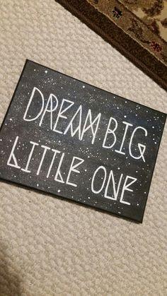 Dream Big Little One: big little sorority craft!