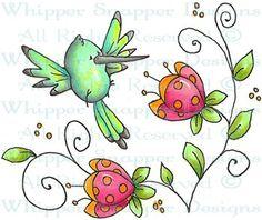 Hayden - Birds - Animals - Rubber Stamps