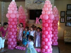 balloonguyz@aol.com Pretty Is Pink-:-Princess Party