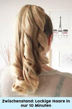 Haare einfach locken