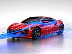 Honda NSX Total Airflow Management Concept