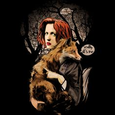 Scully And Fox T Shirt By Artofkaan Design By Humans