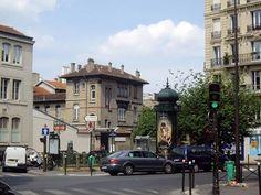 Place Camille-Claudel - Métro Falguière, Paris 15