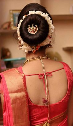 Fringe Hairstyles, Bun Hairstyles, Henna Designs Feet, Beautiful Buns, Lehnga Dress, Ethnic Outfits, Indian Celebrities, Blouse Designs, Backless