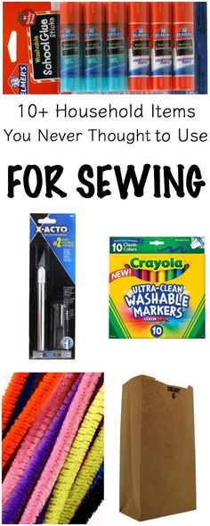 10+ Everyday Household Items You Never Knew You Could Use for Sewing   www.sewwhatalicia.com